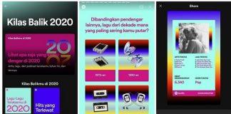 Cara Buat Spotify Wrapped 2020 dan Share di Medsos.