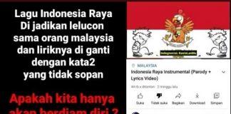 Heboh Video Parodi Lagu Indonesia Raya Menuai Kontroversi.