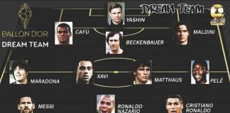 Ballon d'Or Dream Team.