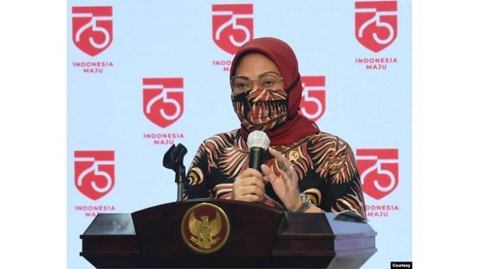 Menteri Ketenagakerjaan (Menaker) Ida Fauziyah.