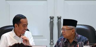 Presiden Joko Widodo (Jokowi) dan Wakil Presiden Ma'ruf Amin.