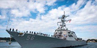 kapal perangAmerika Serikat (AS), USS John S. McCain.