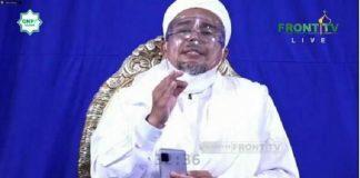 Imam Besar Front Pembela Islam (FPI), Habib Rizieq Shihab.