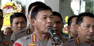 Kapolri Jenderal Polisi Idham Aziz.
