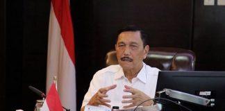 Menteri Koordinator (Menko) Bidang Kemaritiman dan Investasi Luhut Binsar Pandjaitan.