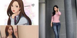 Yaongyi, Seniman Cantik di Balik Komik True Beauty.