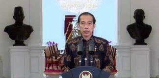 Presiden Joko Widodo (Jokowi) dalam sambutannya secara virtual untuk Peringatan Hari Hak Asasi Manusia sebagaimana ditayangkan di kanal YouTube Sekretariat Presiden pada Kamis, 10 Desember 2020.