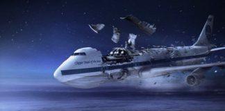 Ilustrasi Tragedi Jatuhnya Pesawat di Lockerbie.