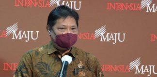 Menteri Koordinator Bidang Perekonomian Airlangga Hartarto.
